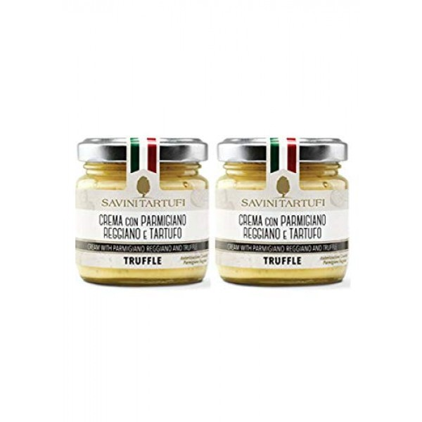 Savini Tartufi. Parmigiano truffle cream. 180g 6.35oz. Pack of 2