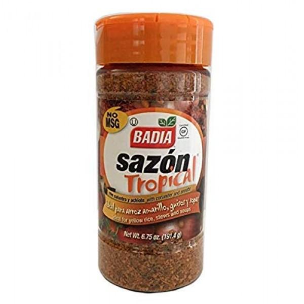 2 Pack - Badia Sazon Tropical Seasoning Coriander & Annatto Cula...