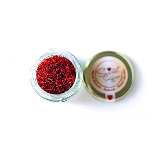 2 Grams 0.07oz of Finest Natural Red Saffron Threads - Grade 1...