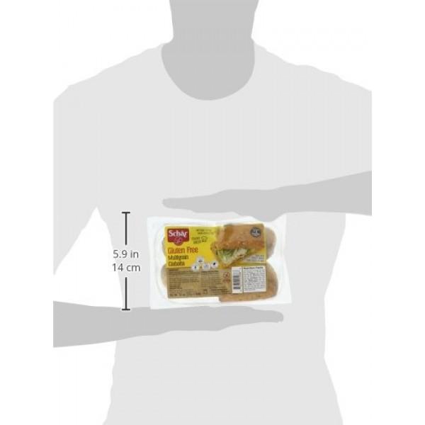 Schar Gluten Free Multigrain Ciabatta Rolls, 4 rolls, 7 Ounce