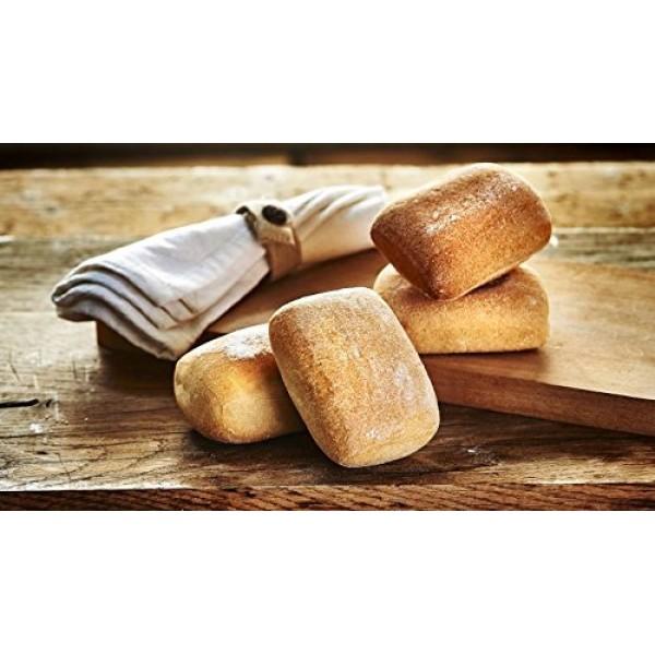 Schar Gluten Free Ciabatta Rolls, 6 Pack 3 Regular, 3 Multigrai...