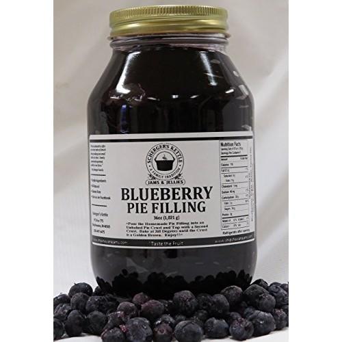 Blueberry Pie Filling, 36 oz