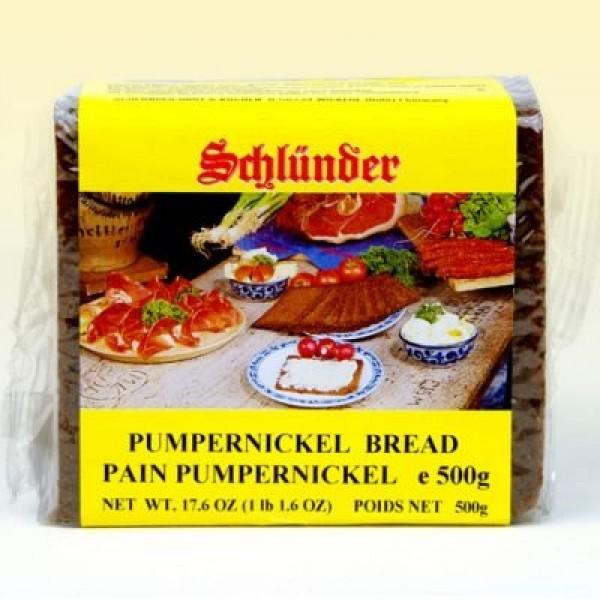 Schlunder German Pumpernickel Bread 500g 2-pack