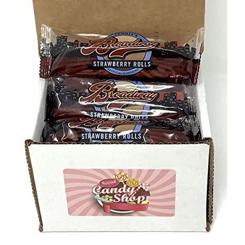 Gerrits Broadway Licorice Rolls Strawberry Flavor - box of 12