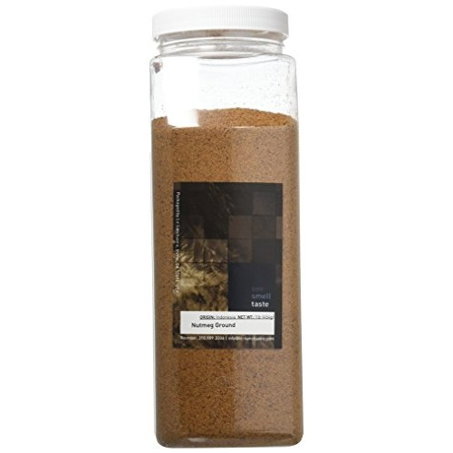 See Smell Taste Nutmeg Ground, 1 Pound