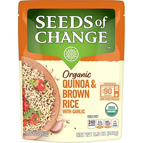 Seeds of Change: Certified Organic Quinoa & Brown Rice With Garl...