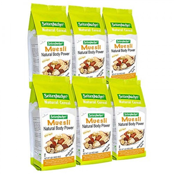 Seitenbacher Muesli Cereal #1 – Natural Body Power – Apple & Haz...