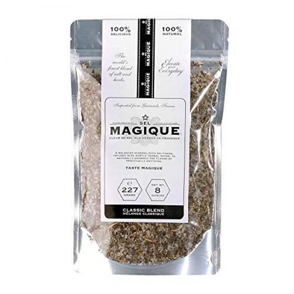 Sel Magique Herb Sea Salt Classic Blend - Fleur de Sel From Fran...