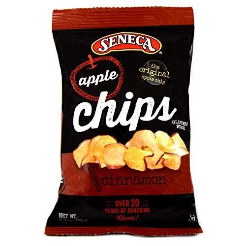 Seneca Cinnamon Apple Chips - 2.5 oz. bag, 12 per case