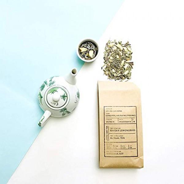Teapins Ginger Lemongrass Tea Farmers Herbal Premium Loose Leaf ...