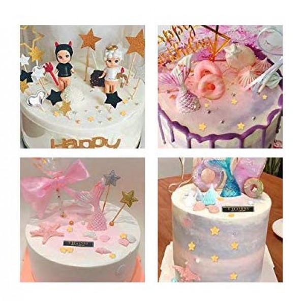 1 Bottle Candy Cake Cupcake Toppers Cookie Decorations Sweet Per...