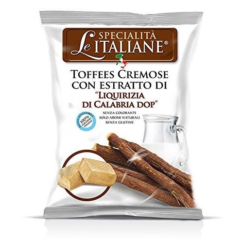 Serra Le Italiane, Italian Natural Toffee Licorice Candy from Ca...