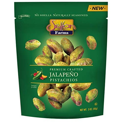 Setton Farms Seasoned Pistachio Kernels, Jalapeño, 3 oz