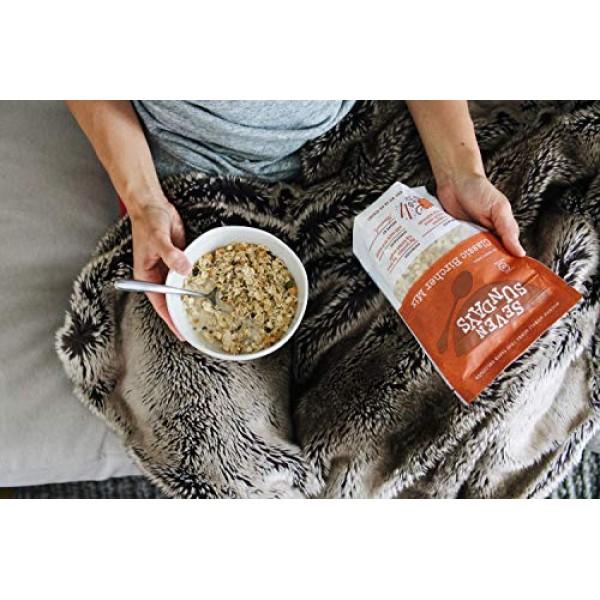 Seven Sundays Muesli Cereal 4-Flavor Variety Pack {12 oz. pouche...