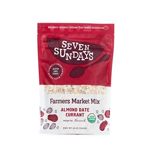 Seven Sundays Organic Farmers Market Muesli {12 Oz, 4Count} | Ce...