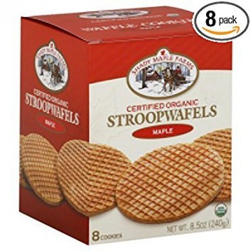 Organic Maple Waffle Cookie 8.50 Ounces (Case of 8)