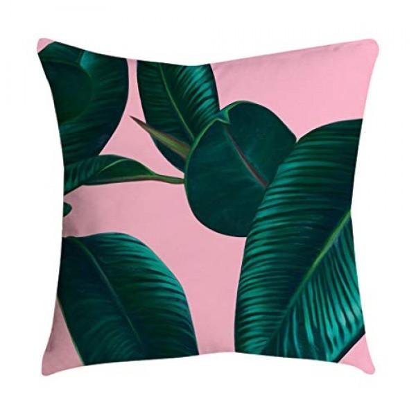 Shan-S Set of 4 Decorative Throw Pillow Covers Geometric Design ...