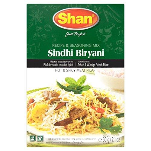 Shan Sindhi Biryani - 60 Gms X 6 Pcs
