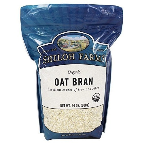 Shiloh Farms Organic Oat Bran -- 24 oz