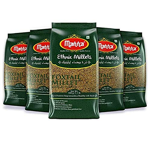 Millet pure quality of millet tasty Foxtail Millet Pack of 5 50...