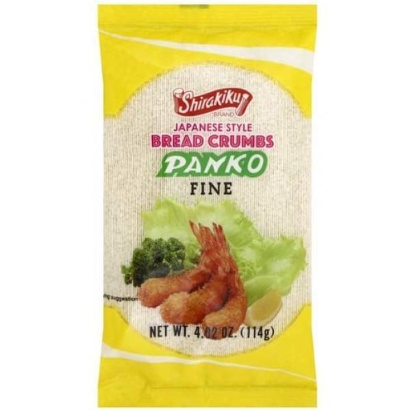 Pack of 4 Shirakiku Japanese Style Bread Crumbs Panko Fine 4.0...