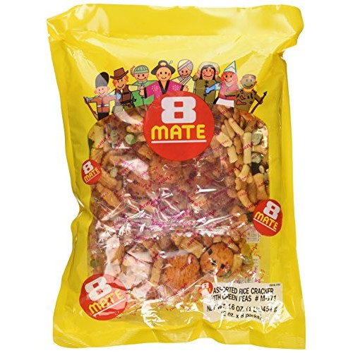 Shirakiku - 8-Mate Assorted Rice Crackers 16 Oz.