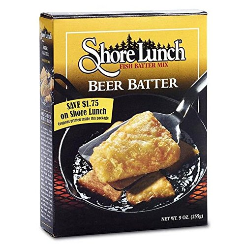 SHORE LUNCH, BREADING, BEER BATTER, Pack of 10, Size 9 OZ - No A...