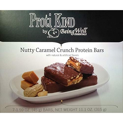 Shred Bars- Nutty Caramel Crunch 1.55 Oz-box of 7