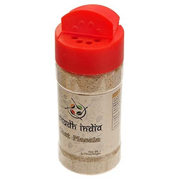 Shudh India | Chat Masala | Tangy Indian Seasoning | All Natural...