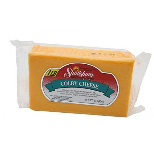 Shullsburg Creamery - Colby Cheese - 1 Pound