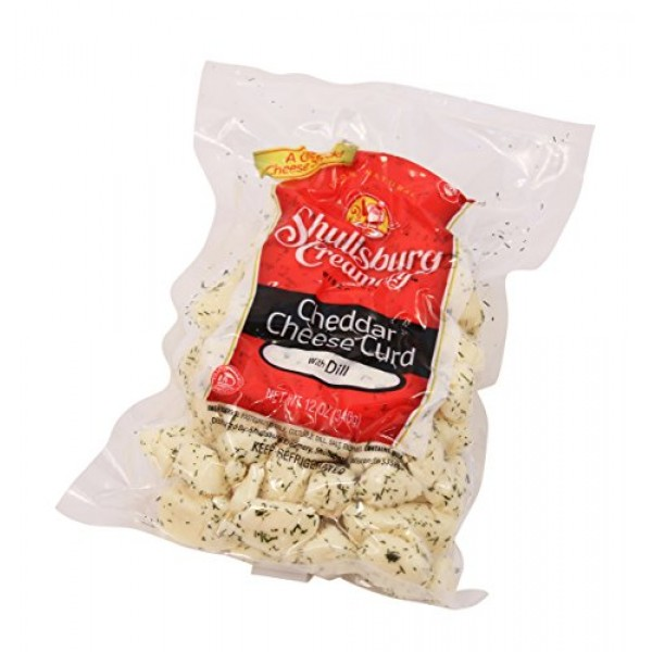 Shullsburg Creamery - Fresh Dill Cheddar Cheese Curds - 12 oz.