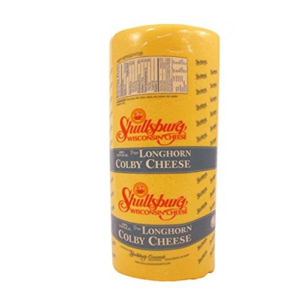 Shullsburg Creamery - Colby Longhorn - 14# Longhorn