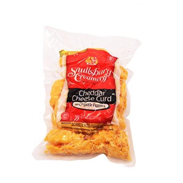 Shullsburg Creamery - Fresh Chipotle Cheddar Cheese Curds - 12 oz.