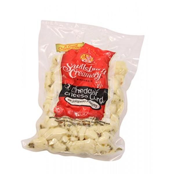 Shullsburg Creamery - Fresh Jalapeno Cheddar Cheese Curds - 12 oz.