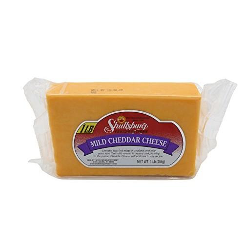 Shullsburg Creamery - Mild Cheddar Cheese - 1 Pound