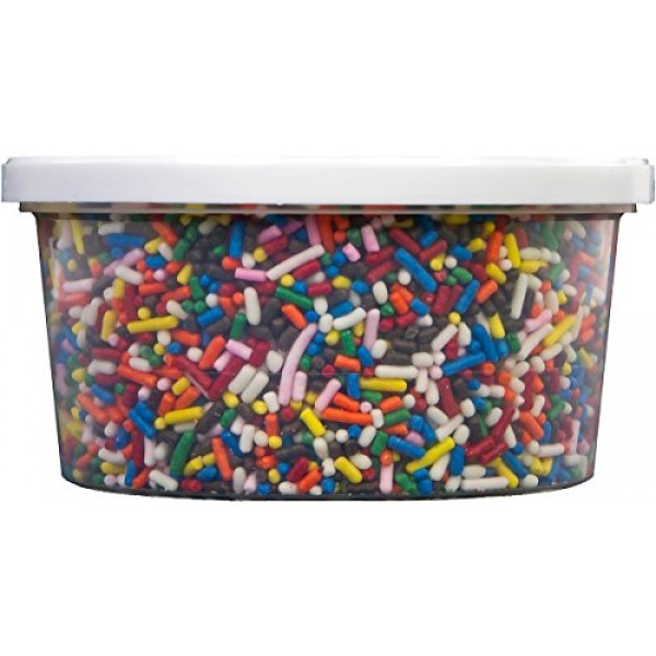 Signature Brands Bc71201 Betty Crocker Sprinkles 10.5oz-Rainbow