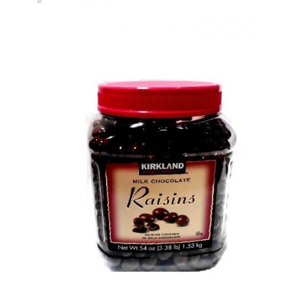 Signatures Milk Chocolate, Raisins, 3.4 Pound1.5Kg