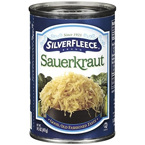 Silver Fleece - Sauerkraut - 14.5 oz - 12 pack
