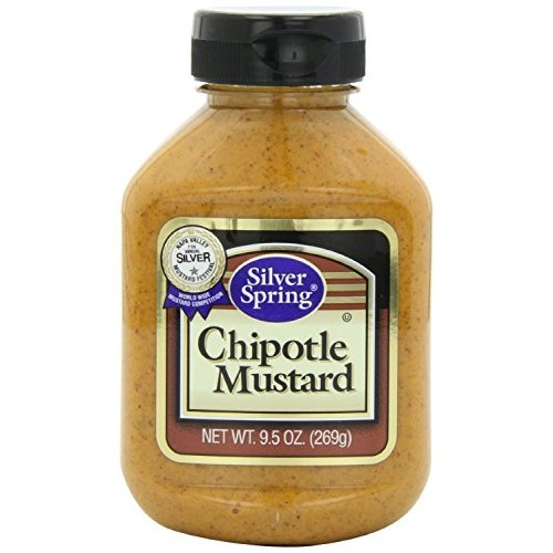 Silver Springs Mustard Chipotle, 9.5 OZ Pack Of 2