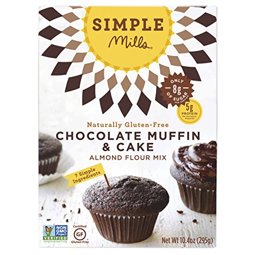 Simple Mills Almond Flour Mix, Chocolate Muffin & Cake, 10.4 oz ...