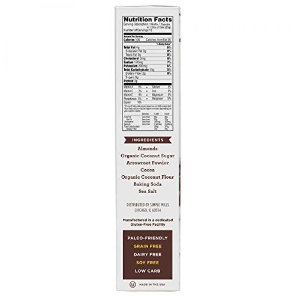Simple Mills Almond Flour Pancake Mix & Waffle Mix, Gluten Free,...