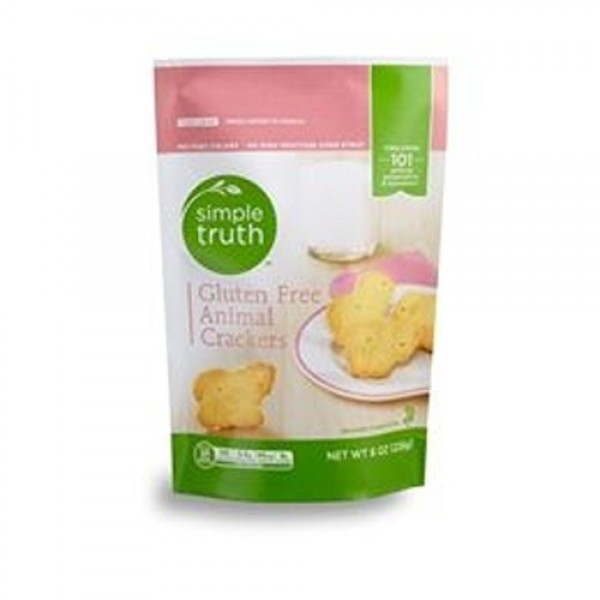 Simple Truth Gluten Free Animals Crackers Pack of 3