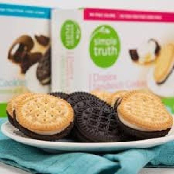 Simple Truth Organic Duplex Sandwich Cookies No High Frutrose Co...