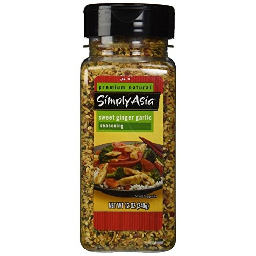 Simply Asia Sweet Ginger Garlic Seasoning, 12 Ounce