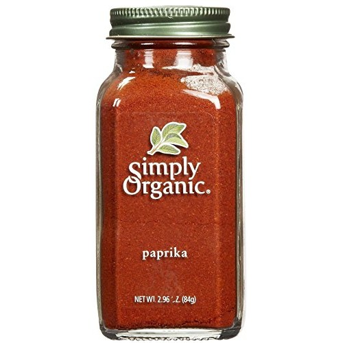 Simply Organic Paprika Ground Certified Organic Containers - 2.9...