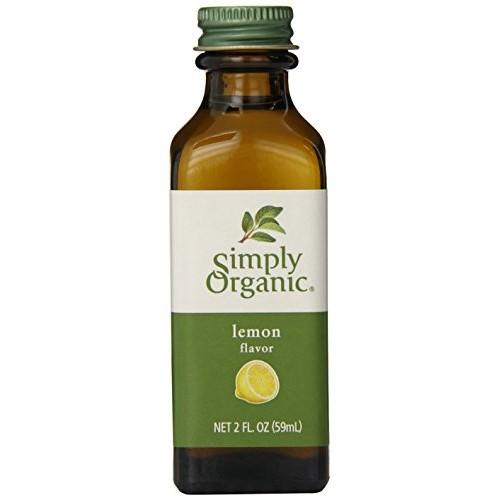 Simply Organic Lemon Flavor Certified Organic, 2-Ounce Container