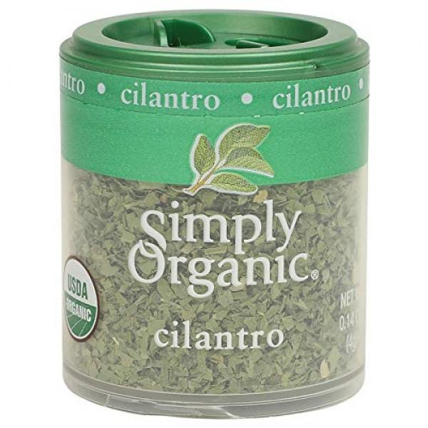 Simply Organic Cilantro Leaf, Cut & Sifted, Certified Organic   ...