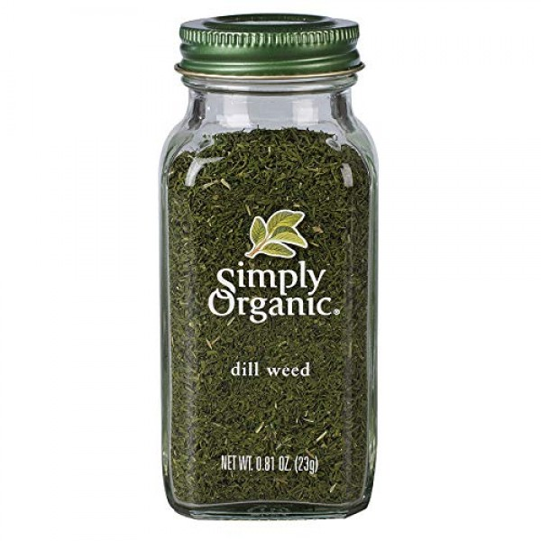 Simply Organic Dill Weed, Cut & Sifted, Certified Organic   0.81...