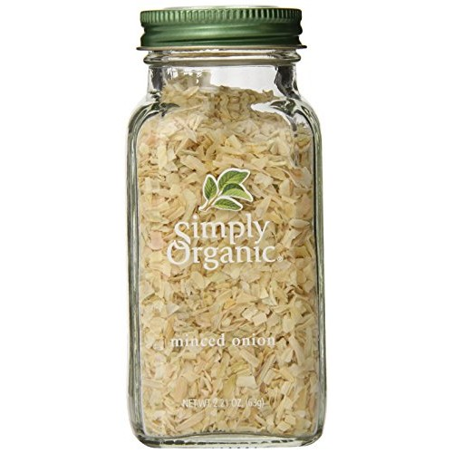 Simply Organic Onion, White Minced, Certified Organic, 2.21-Ounc...