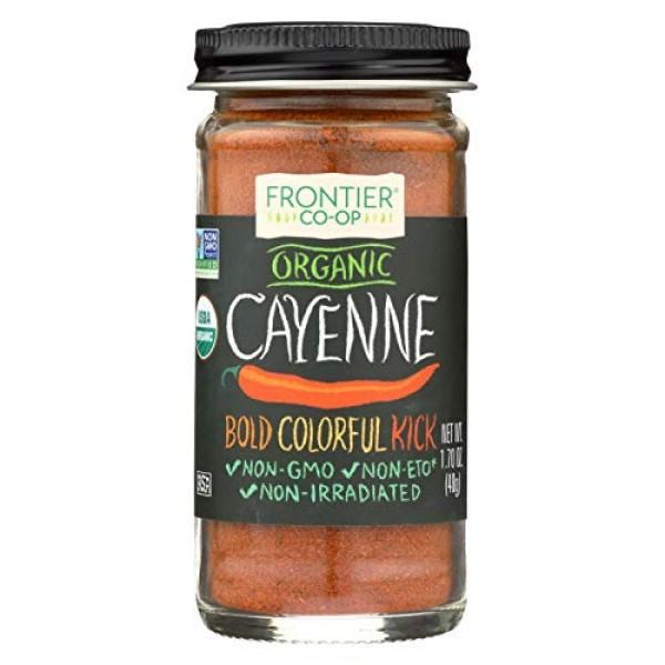 Frontier Herb Organic Ground Cayenne Pepper, 1.7 oz